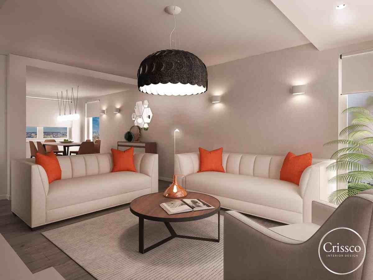 Residential Interior Design - Living Room