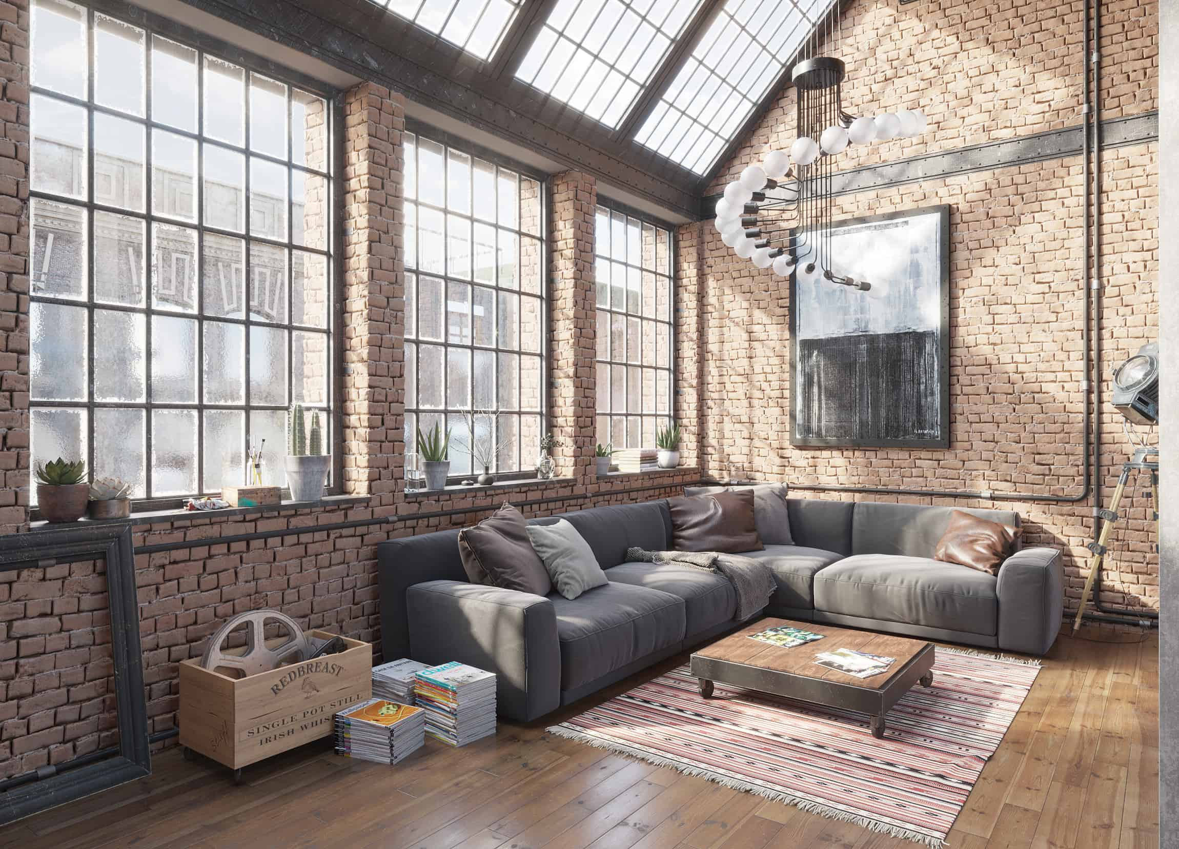 Merveilleux The Main Goal Was To Achieve Connection Between Rough Industrial Look And  Home Cosiness.I Wanted That A Person Who Was In This Interior Would Feel  Not ...