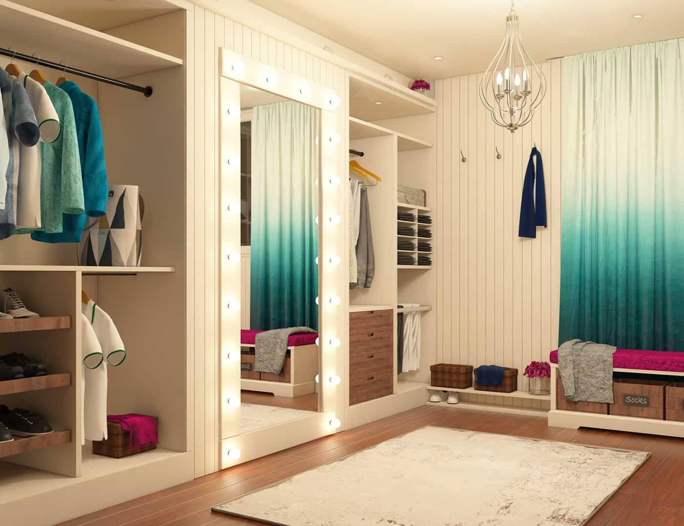 Dressing room interior designio for Master bedroom dressing room ideas