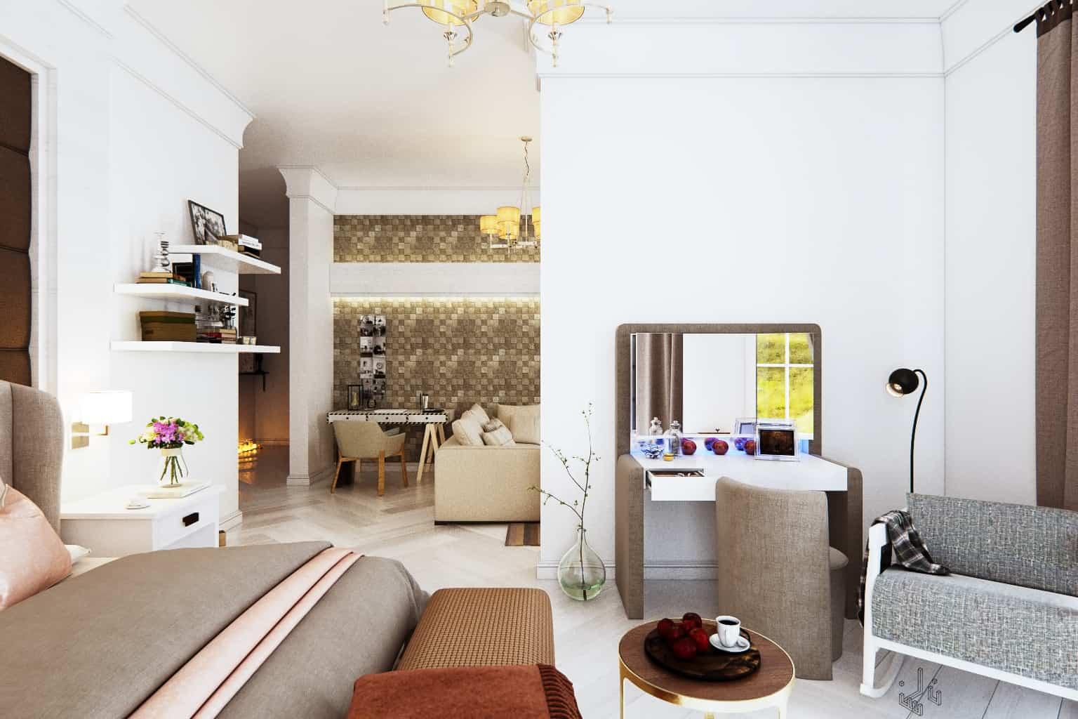 White Bedroom - Interior Designio