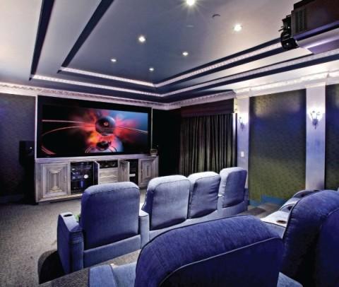 Home Theater Interior Design  Interior design