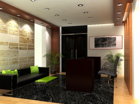 Office Reception Interior Design Reception Area