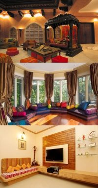 Indian Living Room Interior Design - Interior design