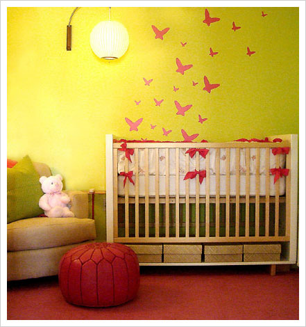 Baby Girls Nursery Decorating Ideas  Interior design