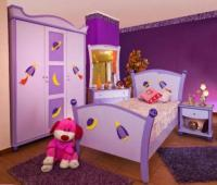 Girls' Purple Bedroom Decorating Ideas - Interior design