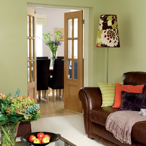 Green And Brown Living Room Decor Interior Design Part 71