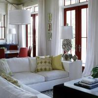 How to Decorate a Living Room with White Walls - Interior ...