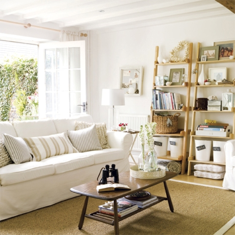 Modern cottage interior design  Interior design