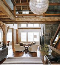 Rustic Contemporary Interior Design Ideas
