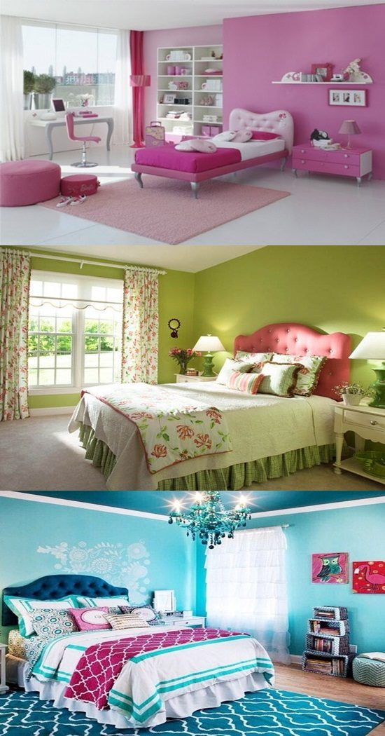 Bedroom Colors for Girls  Interior design