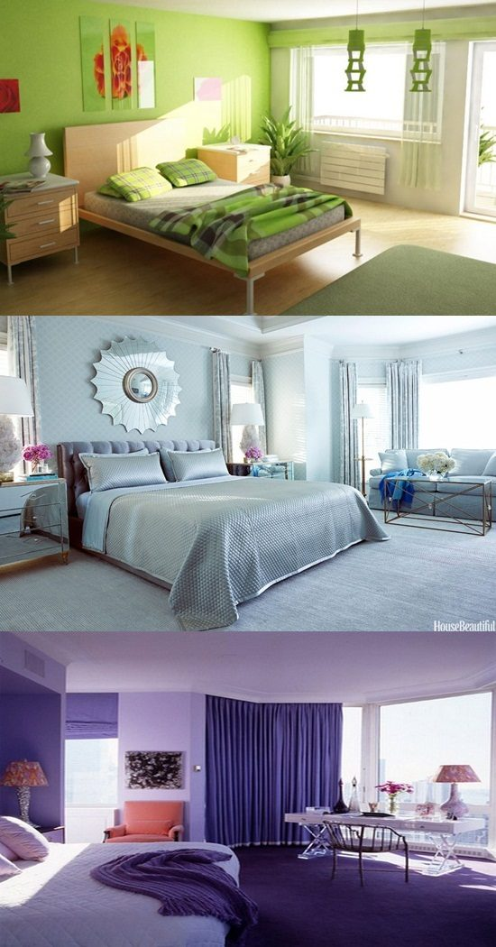 Trendy Bedroom Colors  Paint Colors  Interior design