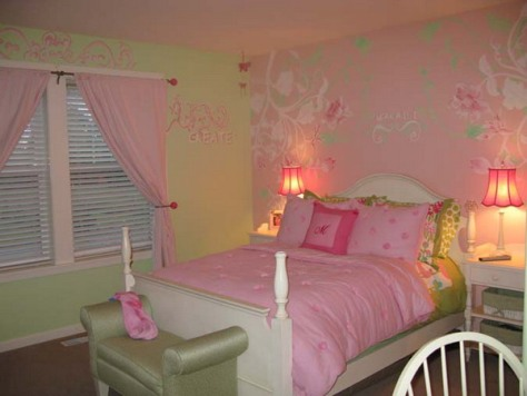 wallpaper decoration for living room decorating with red accent wall border teenage girls bedroom
