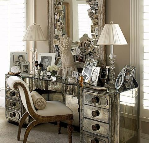 ideas to use mirrored furniture in the bedroom - interior design