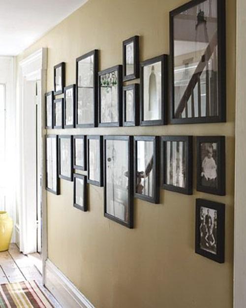 Resultado de imagem para hallway decorating ideas
