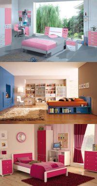 Cool Bedroom Designs for Teenage Girls - Interior design