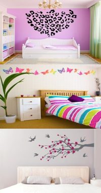 Ideas for Wall Sticker Designs for Teenage Girls ...