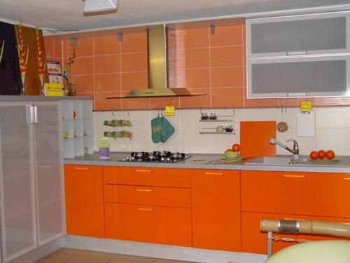 orange and green kitchen decor Vibrant Orange Kitchen Decorating Ideas - Interior design