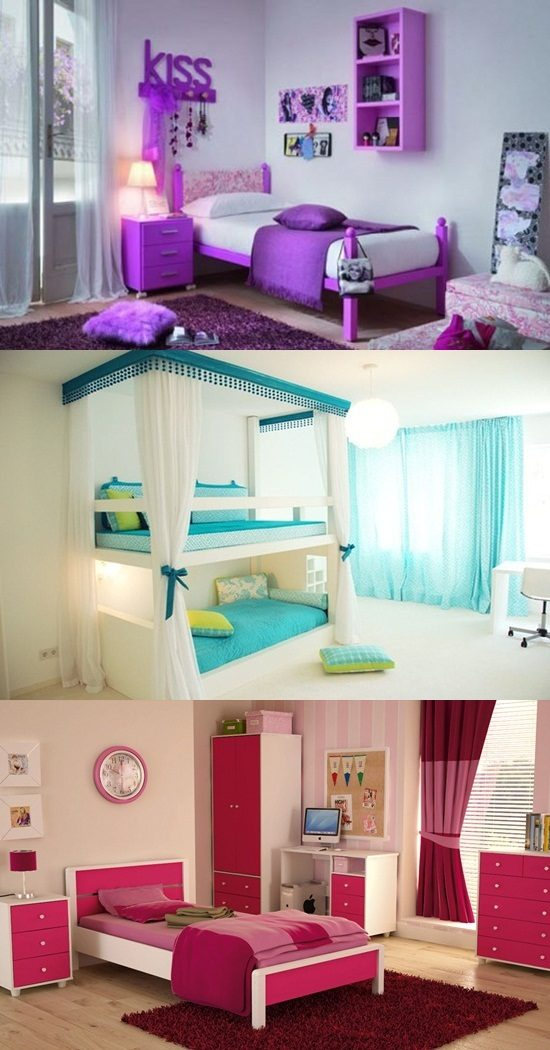 Cool Teen Girl S Bedroom Decorating Ideas
