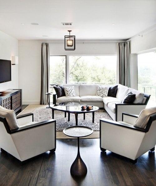 black and white living room interior design Black And White Living Room interior design ideas - Interior design
