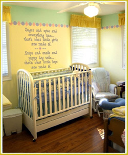 Designing A Baby S Room Consider The Following Points: Cool Baby Room Decorating Ideas