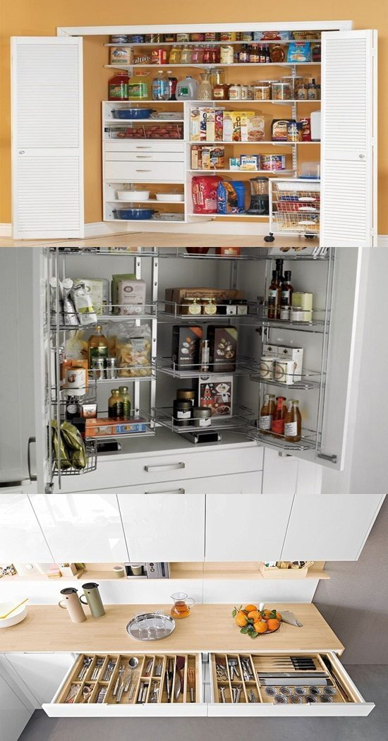 kitchen tile floor ideas unique cabinet pulls creative storage solutions for small kitchens - interior ...