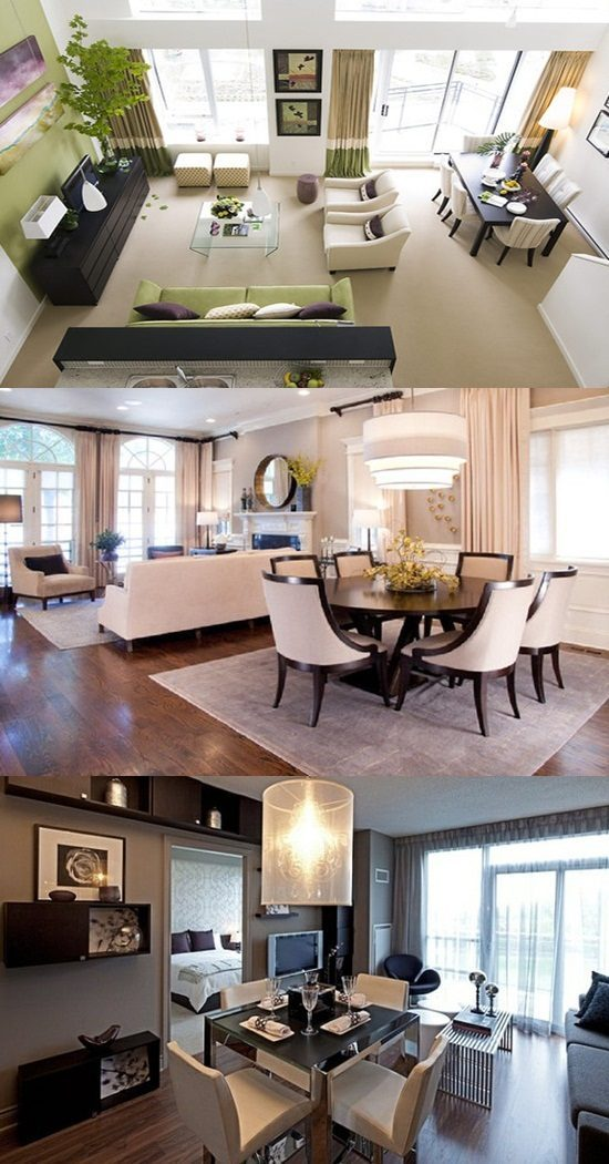 Perfect Ways To Decorate A Living Room With A Dining Area