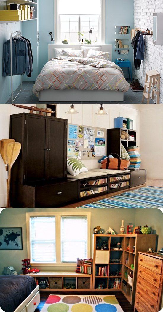 Smart Ideas To Organize Your Small Rooms Interior Design