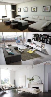 11 Coolest Modern Minimalist Living Room Interior Design ...