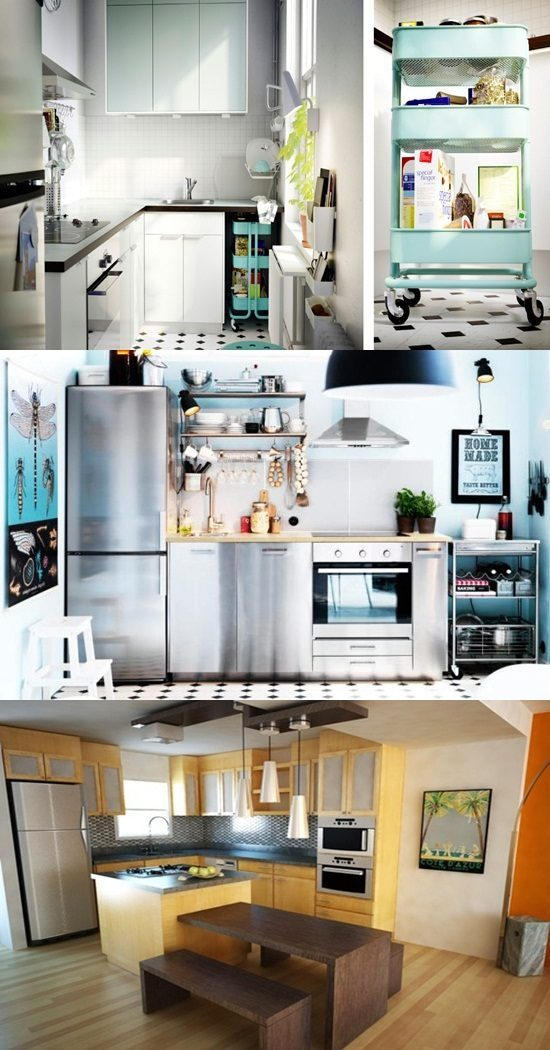 Smart  SpaceSaving Ideas for Small Kitchens  Interior