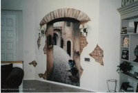 Wall and painted murals - Interior design