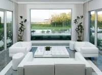 White Living Room Accessories - Interior design