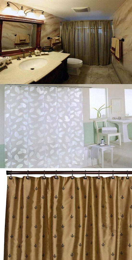 bathroom shower curtains original