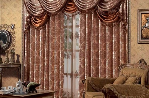 Beautiful Cottage Style Curtains Interior Design