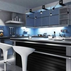 Cleaning Kitchen Wood Cabinets Island Electrical Outlet Cool Ultra-modern Kitchens - Interior Design