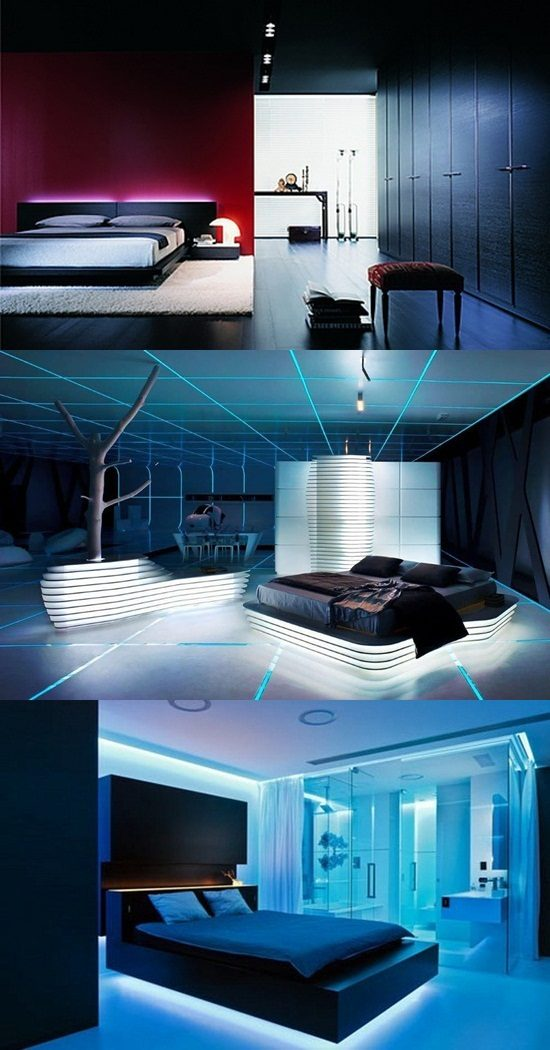 Ideas on Designing a Futuristic Bedroom  Interior design