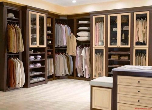 Modern Bedroom Closets and Wardrobes - Interior design