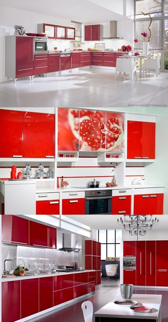 modern kitchen cabinets online ikea drawer organizer red and white