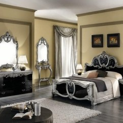 Patterned Curtains For Living Room Silver Wall Mirror Decorating Your Antique Victorian Master Bedroom