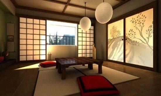 japanese living room set furniture packages dining decoration - interior design