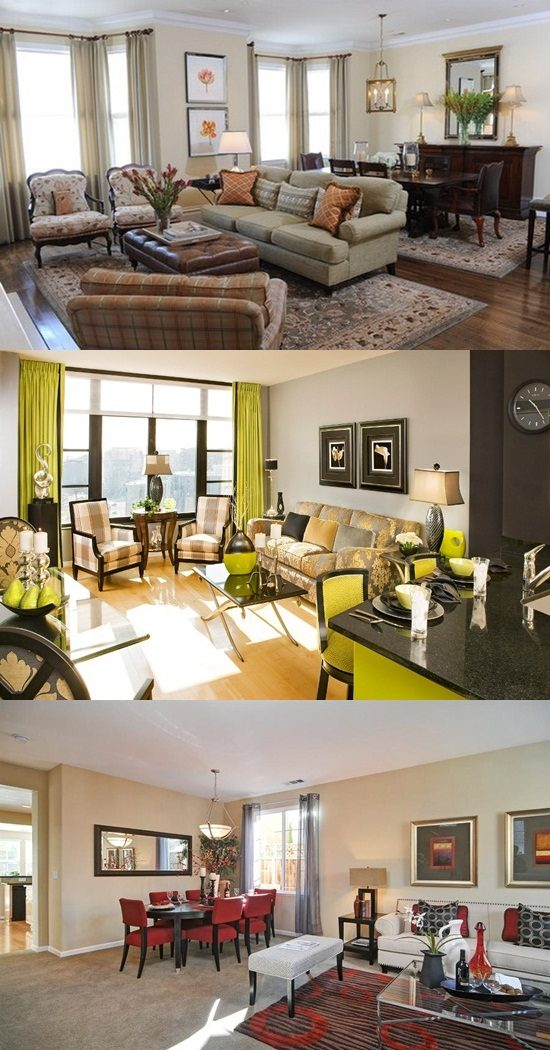Living/Dining Room Combo - Stylish Decorating Ideas ...