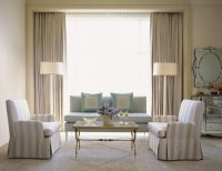 Luxurious Modern Living Room Curtain Design - Interior design