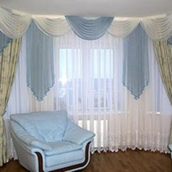 Window Treatment Ideas For Large Living Room Paint Luxurious Modern Curtain Design - Interior