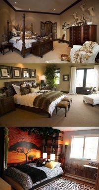 African Safari Bedroom Curtain Ideas - Interior design