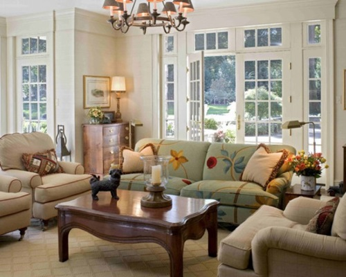 French Country Style For Your Living Room  Interior design