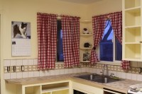 Using Curtains To Accessorize Your Kitchen - Interior design