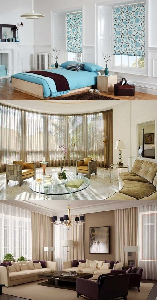 traditional sofa sets living room what to put behind a sectional mediterranean bedroom curtain ideas - interior ...
