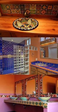 How to Decorate your Bathroom in Mexican Style - Interior ...