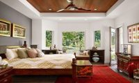 Oriental Bedroom Interior Design - Interior design