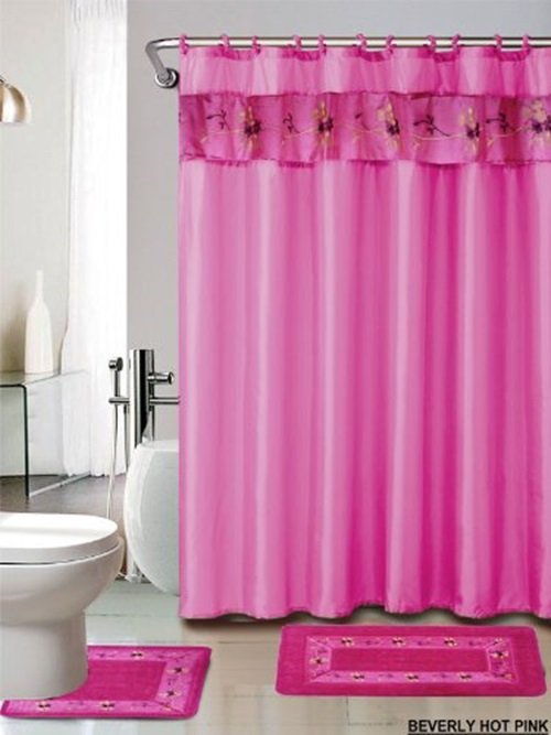 Bathroom Curtains Sets Shower Curtain Sets Bathroom With Lighting