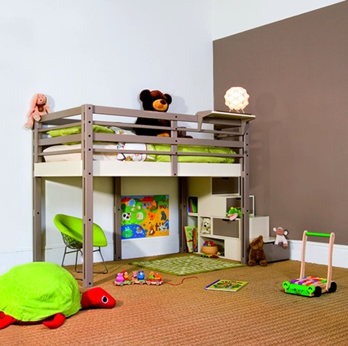 creative space saving ideas for small kids bedrooms interior design. Black Bedroom Furniture Sets. Home Design Ideas